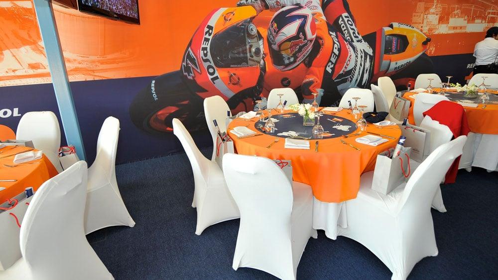 Grand Prix of Qatar Suite Design for Repsol