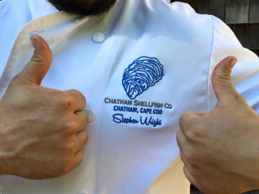 Chatham Shellfish Co. Chef's Coat