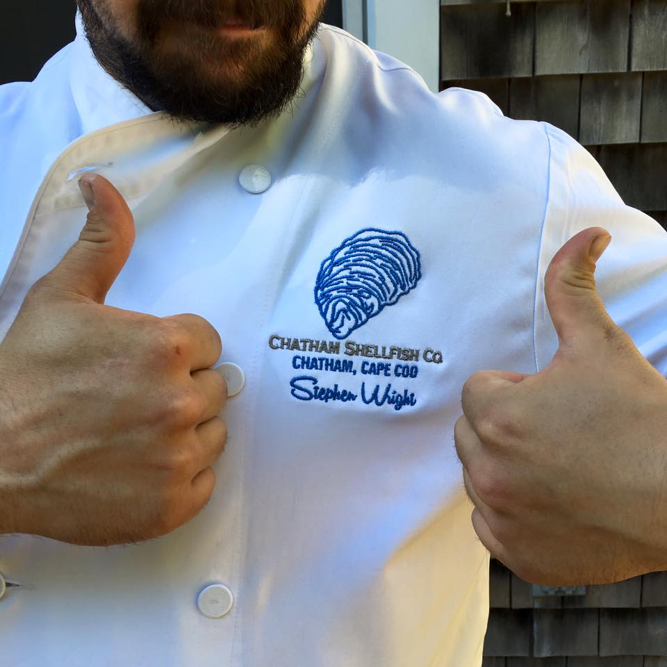 Chatham Shellfish Co. Chef's Coat