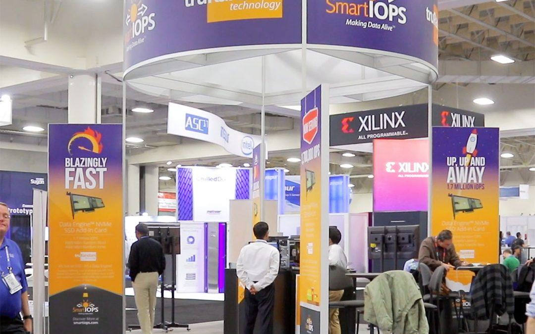 Smart IOPS Exhibit Graphics at SC16